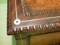 QUALITY Inlaid Rosewood & Amboyna Jewellery – Work Box. c1840 (4 of 16)