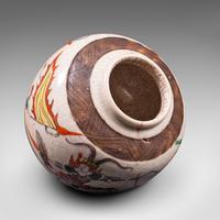 Small Antique Flower Vase, Japanese, Ceramic, Posy Urn, Edo Period c.1850 (11 of 12)