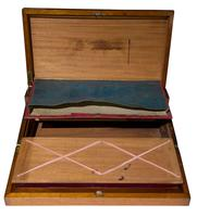 Early 19th Century Brassbound Mahogany Writing Slope with fitted interior (7 of 8)