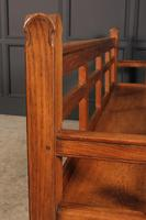 Solid Oak Arts & Crafts Bench (7 of 15)