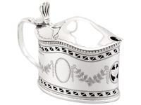 Sterling Silver Condiment Set - Antique George V (8 of 24)