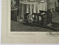 William Hogarth, Marriage-A-La-Mode, Plate 6, Engraved 1745, Original print (4 of 6)