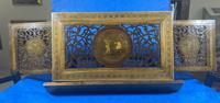 Victorian Italian Sorento Olivewood Book Stand with Micro Mosaic Inlay (4 of 23)
