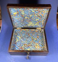 Georgian Brazilian Rosewood Box (7 of 17)