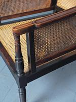 Regency Padouk Bergère Chair (5 of 12)