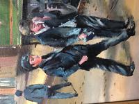Oil Painting Railway Train Engine Princess Margaret 4056 Signed Ken Allsebrook (24 of 30)