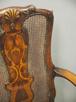 Pair of Queen Anne Style Walnut Armchairs (15 of 17)