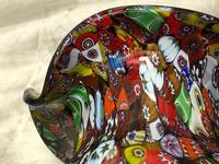 2 Italian Murano 20th Century Fratelli & Torso Millefiori Glass Vases (15 of 15)
