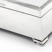 Stylish Large Silver Cigarett or Cigar Table Box (5 of 7)