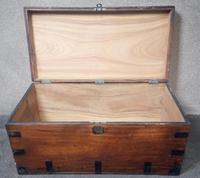 Large 19th Century Camphor Wood Chest V/ Trunk (9 of 11)