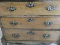 Neat Dutch Oak Chest of Drawers (4 of 11)