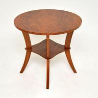 Art Deco Figured Walnut Coffee / Occasional Table (3 of 5)