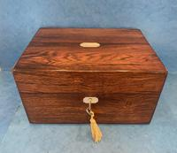 Victorian Rosewood  Box c.1840 (3 of 12)