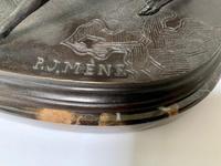 Pierre Jules Mene - Bronze Pair of Whippet, Greyhound & Spaniel (5 of 6)
