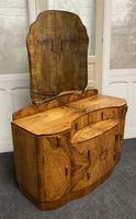 Burr Walnut Art Deco Dressing Table (14 of 14)