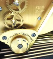 Superb Mahogany Caddy Top Mantel Clock Dual Musical Bracket Clock by Elliott (2 of 9)