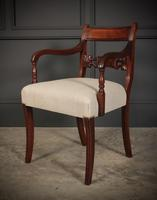 Set of 8 Regency Mahogany Dining Chairs (13 of 20)