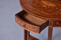 Outstanding Sheraton-style Demi-lune Hall Table (3 of 7)