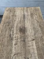 Superb Quality Large Bleached Oak Farmhouse Dining Table (12 of 32)