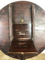 19th Century Mahogany Tilt Top Tripod Table (9 of 9)