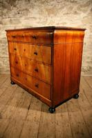 19th Century Walnut Chest of Drawers (6 of 6)