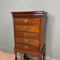 Edwardian Walnut Antique Music Cabinet (3 of 7)