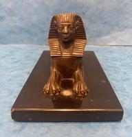 19th Century Bronze  Egyptian  Sphinx (6 of 11)