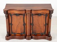 Good Victorian Rosewood Side Cabinet (3 of 8)