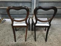 Pair of Beautiful Victorian  Rosewood Chairs (3 of 7)