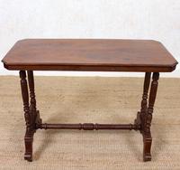 Library Desk Writing Table Mahogany 19th Century (9 of 13)