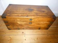 19thc Campaign Camphor Trunk (6 of 7)