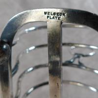 """Early 20th Century """"Welbeck Plate"""" Toast Rack by The Alexander Clark Co Ltd (4 of 5)"""