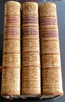 1784 Buffon's Natural History 3 x Large Leather Volumes 140 x Copper Engravings