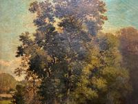 Antoine Chintreuil Fine 19th Century French Barbizon Landscape Oil Painting (4 of 13)