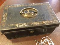 Toleware Box With Bramah Lock