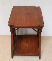 Small Arts & Crafts Walnut Table (6 of 8)
