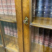 Super Quality Solid Oak Antique Library Bookcase (7 of 9)