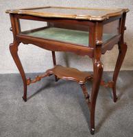 Edwardian Mahogany Bijouterie Table / Display Table (9 of 10)