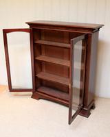 Edwardian Mahogany Glazed Bookcase c.1910 (8 of 11)