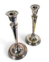 Two Plated Candlesticks (3 of 4)