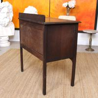Arts & Crafts Oak Chest of Drawers (12 of 12)