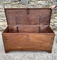 Large Antique Anglo Indian Trunk (20 of 26)