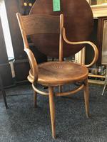 Antique Bentwood Chair J J Kohn Austria Stamped Original Rare Surviving Design (5 of 8)