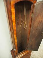 George III Inlaid Mahogany Grandfather Clock by G Brown, Edinburgh (12 of 12)