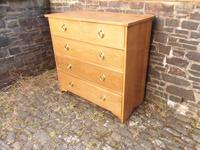 Arts & Crafts Oak Chest of Drawers (2 of 14)