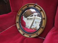 Butlers Porthole Fish Eye Convex Wall Mirror (4 of 8)