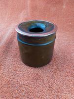 Antique Sterling Silver Hallmarked Hair Tidy Pot Bakelite (9 of 10)