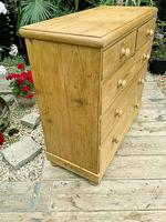 Superb & Large Old Pine Chest of Drawer / Sideboard (5 of 8)