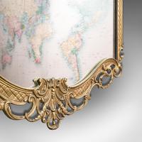 Large Antique Wall Mirror, Italian, Gilt Metal, Hall, Bedroom, Rococo, Victorian (9 of 12)