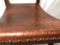 Fine Vintage Early 20th Century Original Adolf Loos Vienna Fireside Leather Armchair Secessionist Oak (21 of 46)